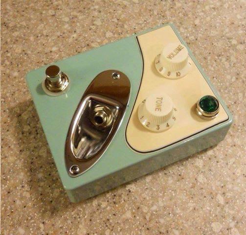 Fenderish pedal