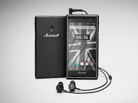 Le London, téléphone made in Marshall